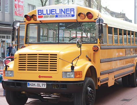 Busdiner - Blueliner Bar & Diner, Burger & Mehr, in der HeliNet Eissportarena, Karl-Koßmann-Straße 1, 59071 Hamm